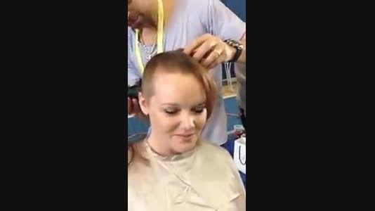 کوتاه کردن موی بلند 3