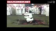 مرد عربستانی بد شانس