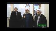 دیدار سه جانبه لاریجانی ها و روحانی