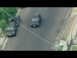 پول افشانی سارقان حین فرار از چنگ پلیس لس انجلس