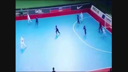 سوپر گل فوتسال بانوان ایران در مسابقات قهرمانی آسیا