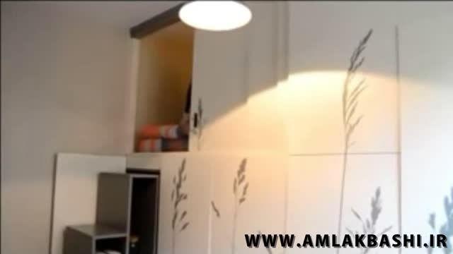 خلاقیت در طراحی خانه کوچک