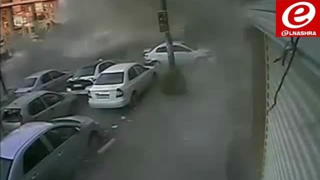حمله خمپاره ای تروریست ها به دمشق و کشتار مردم