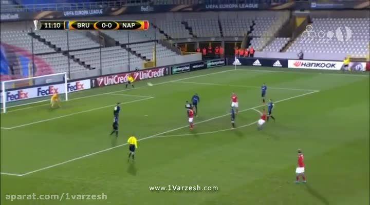 بروژ 0-1 ناپولی