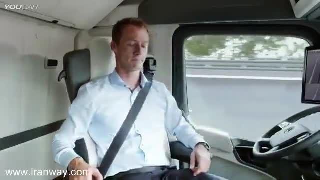 اسپاد سیستم -حمل و نقل هوشمند -کامیون بدون راننده بنز