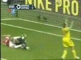 ارائه فوتبال خیره كننده توسط بازیكنان آرسنال