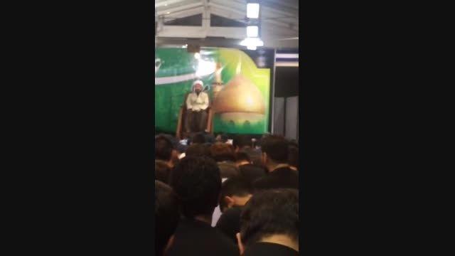تصاویری از حضور تیم مذاکره کننده هسته ای در مراسم احیا
