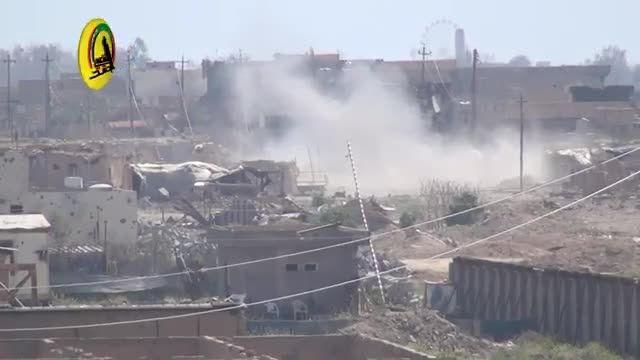شکار داعشی در حال فرار