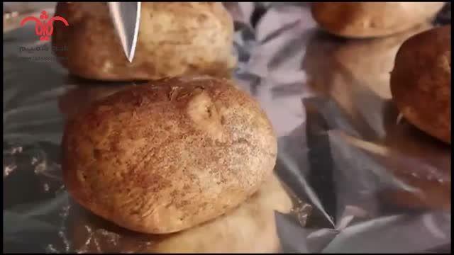 فر سیب زمینی