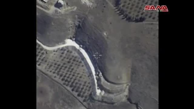 20 حمله جنگنده های ارتش روسیه به داعش در سوریه