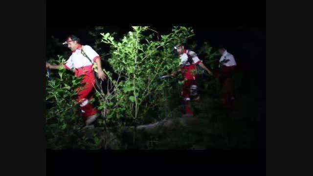 عملیات جستجو و نجات در منطقه باران کوه شهرستان گرگان