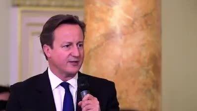 سخنرانی دیوید کامرون در جمع مسلمانان بریتانیا