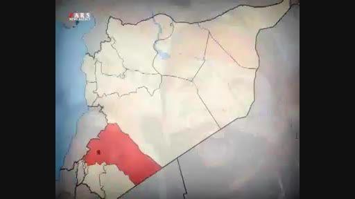 چه مساحتی از خاک سوریه آزاد است؟ +نقشه کامل