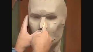 مجسمه سازی با خمیر!