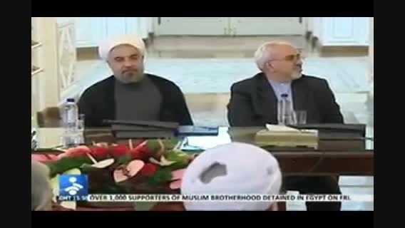 سخنان خنده دار رئیس جمهور و رئیس سازمان انرژی اتمی