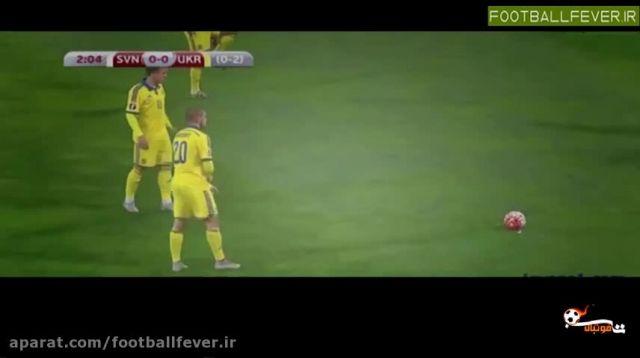 خلاصه بازی اسلوونی 1 - اوکراین 1