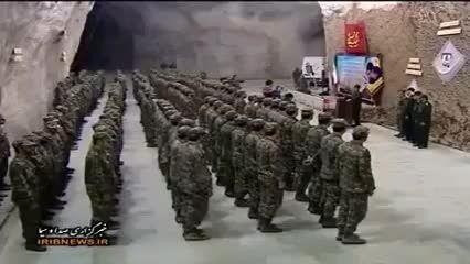 پایگاه موشکی ایران در عمق ۵۰۰ متری زمین !!!