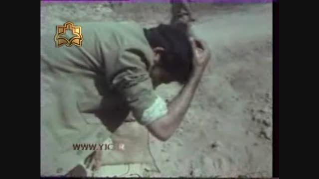 دکتر هاشمی وزیر بهداشت 34 سال قبل در جبهه - خرداد 1360