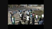 تشکیل بزرگ ترین دایره آبی شمال شرق کشور در مشهد93/8/23