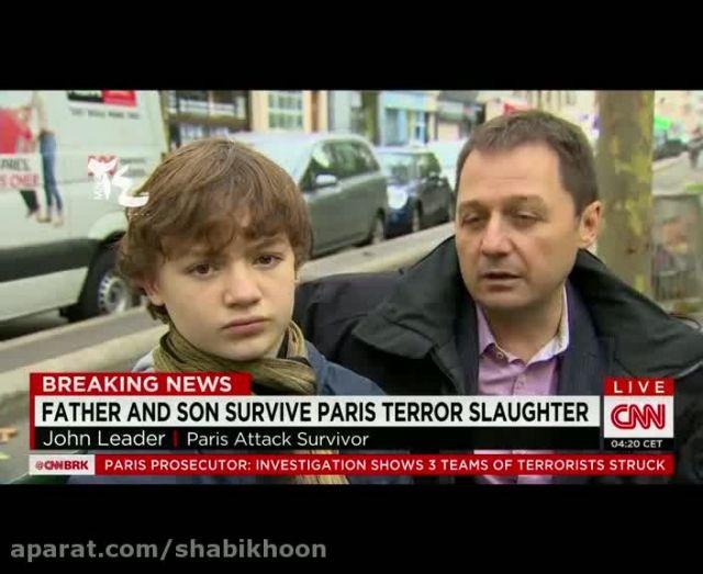 تروریست های فرانسوی بومی صحبت می کردند