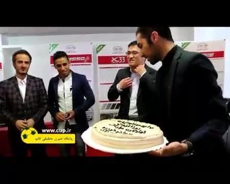 کیک مالی شدن مدافع استقلال توسط مهاجم پرسپولیس