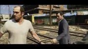 تریلری از کاراکترهای بازی GTA V