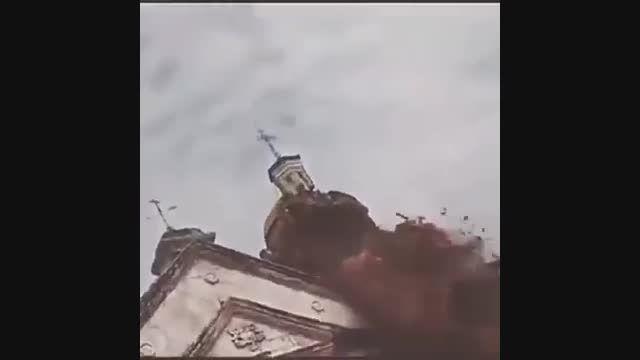 ویدیویی از لحظه وقوع زلزله 7.1 ریشتری