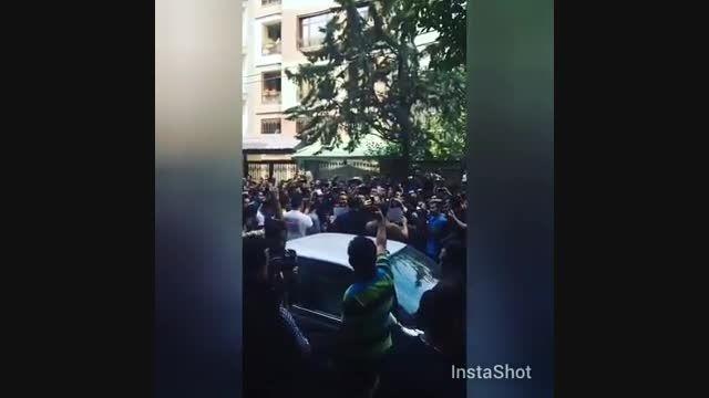 مراسم تشریع جنازه هادی نوروزی