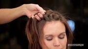 بافت هاله برای موهای کوتاه