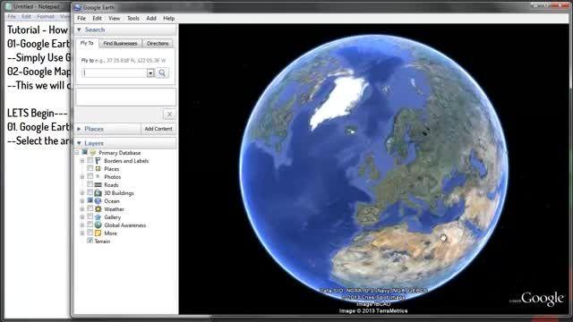 آموزش دانلود نقشه های گوگل مپ