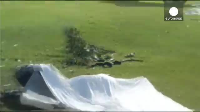 هفت کشته در پی سقوط یک فروند هواپیمای کوچک