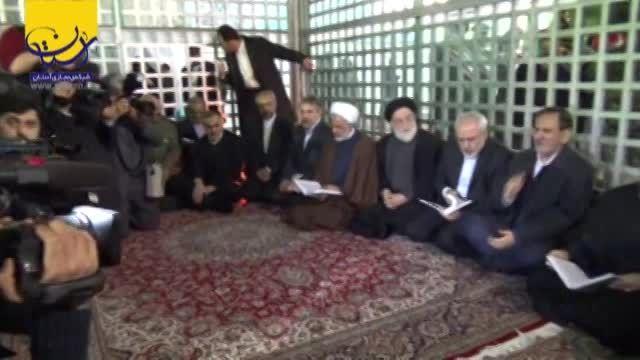 تجدید میثاق هیئت دولت با آرمان های حضرت امام (ره)