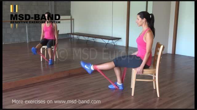 تمرین شماره2 - جهت تقویت عضلات پا