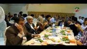 مراسم افطاری سازمان دانشجویی