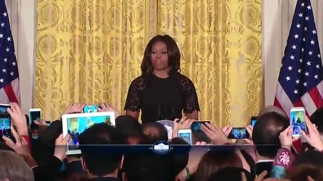 تبریک نوروز توسط میشل اوباما
