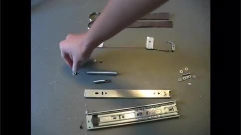 ساخت خنجر پنهان (hidden blade)