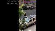 انتقام گرفتن زن از ماشین همسرش....