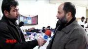 اهدای خون اعضای هیأت و کانون فرهنگی جوادالائمه (ع) عاشورا 92