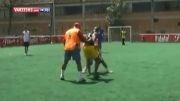 لایی زدن در فوتبال خیابونی