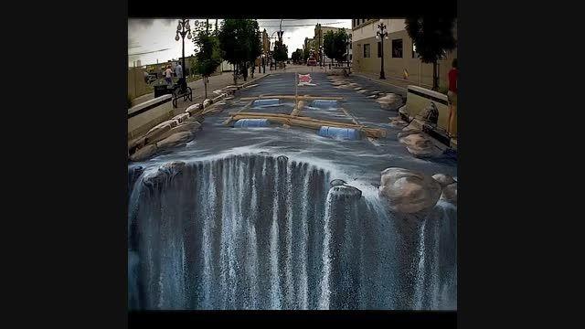 هنر نقاشی سه بعدی در خیابان ها