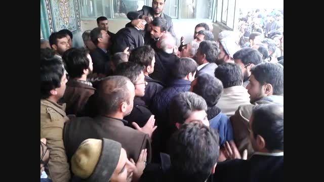 مراسم ترحیم مادر دکتر احمدی نژاد در قم 4