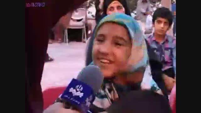 سفره ۲ کیلومتری افطار روزه رمضان+فیلم ویدیو کلیپ کیش