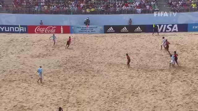 پرتغال VS آرژانتین (جام جهانی فوتبال ساحلی 2015)
