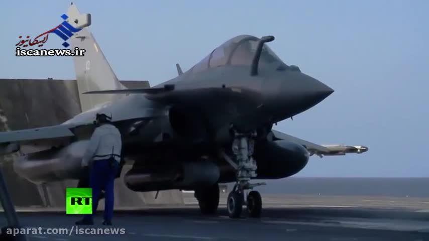 انتشار نخستین تصاویر جنگنده های فرانسوی