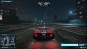 top speed in need for speed mw 2012 with FORD GT