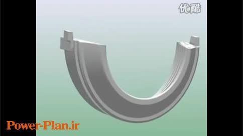 نمایش سه بعدی جزییات داخلی ژنراتور حرارتی
