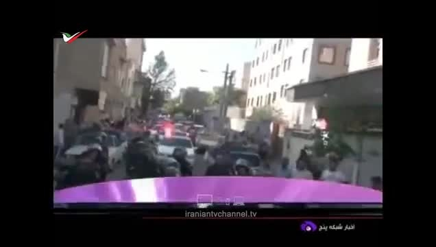 فیلم منتشر شده از عملیات دستگیری اراذل و اوباش در تهران