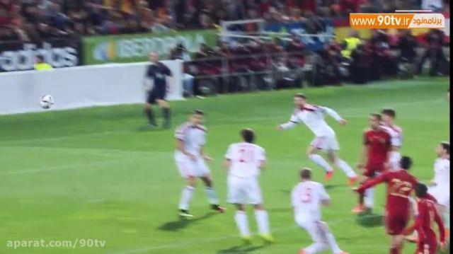 ۵ سوپرگل دیدنی اسپانیا در مقدماتی یورو ۲۰۱۶
