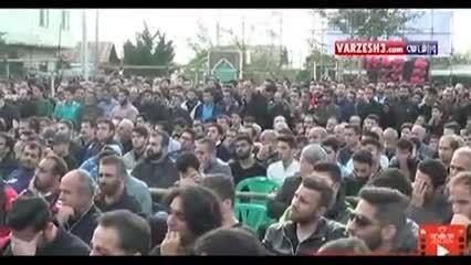ویدئوی مراسم چهلم «هادی نوروزی» -پورتال  امروز آنلاین