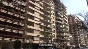 فیلمبرداری و پیاده روی در شهر بوئنوس آیرس پایتخت آرژانتین